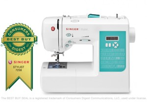 Singer 7258 sewing machine