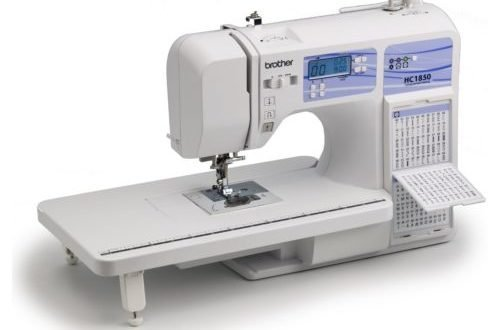 review  brother hc1850 sewing machine