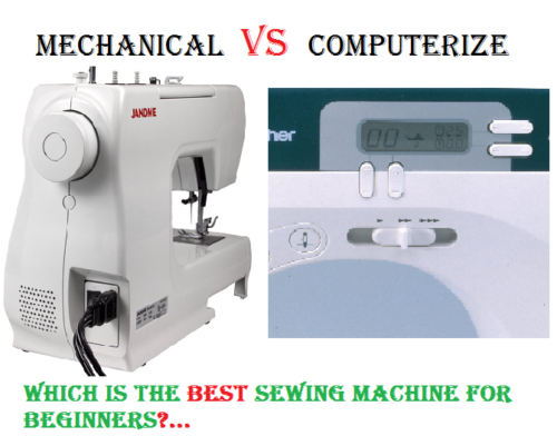 Sewing Machine for beginner help!?