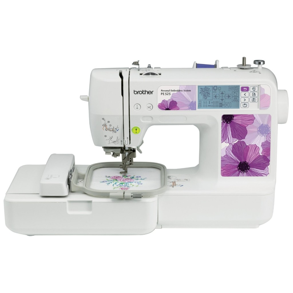Brother PE525 Review - Embroidery Sewing Machine