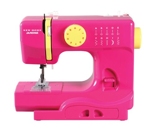 Janome Fuschia Portable sewing machine for kids