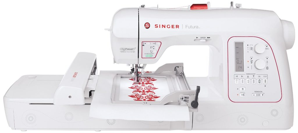 Review Of Singer XL-580 Futura Embroidery Machine - Good Or Bad?