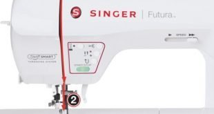 Singer XL-580 Futura Embroidery and Sewing Machine1