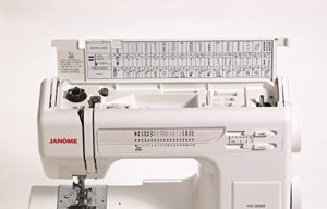 Janome HD3000 Heavy Duty Sewing Machine - Stitches