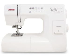 Buy Janome HD3000 Heavy Duty Sewing Machine