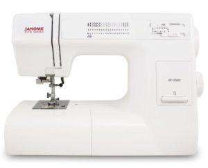 Buy Janome HD3000 Heavy Duty Sewing Machine
