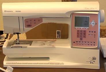 Husqvarna Viking Eden Rose 250C sewng machine image