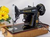 The Singer 99 has a horizontal oscillating hook