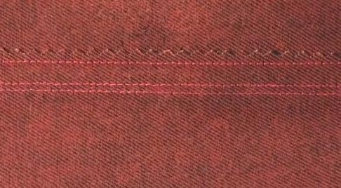 Finish welt seam – wrong side