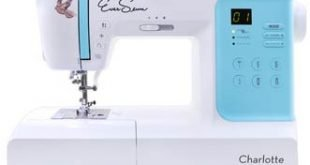 Image of the EverSewn Charlotte Computerized Sewing Machine
