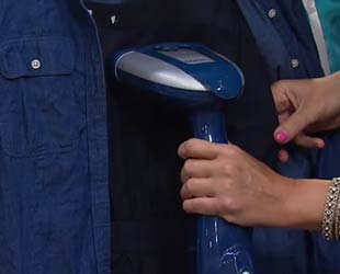 handheld fabric steamer image
